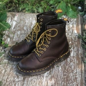 Dr Martens 1460 MIE Brown Leather BEX sole Boots